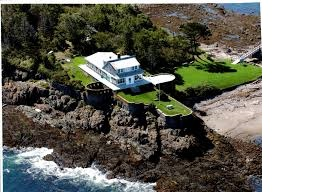 House from air