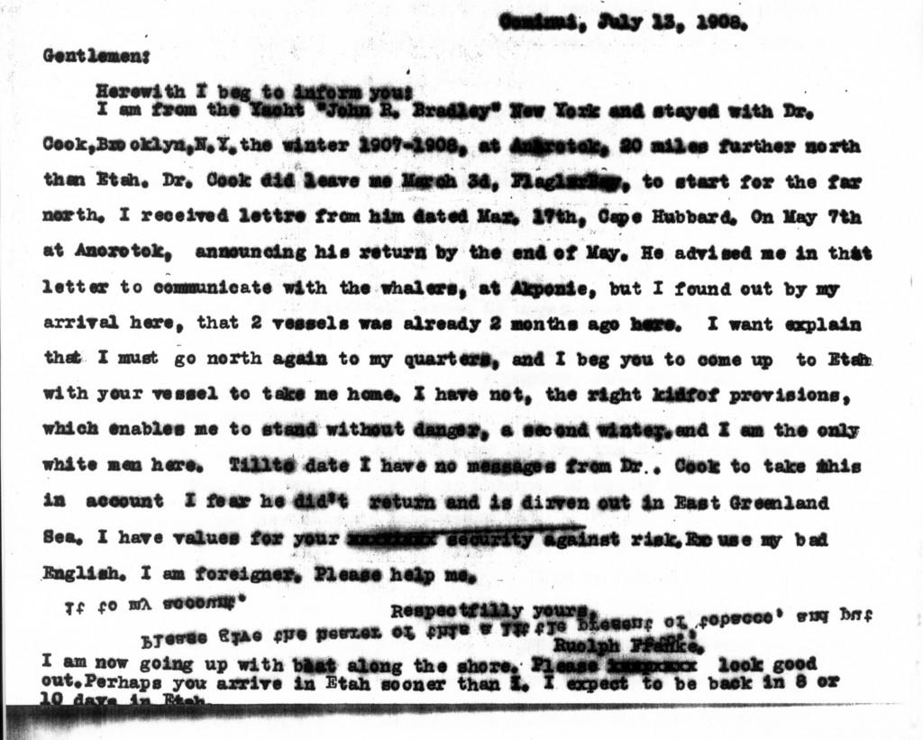 July 13 Franke Letter