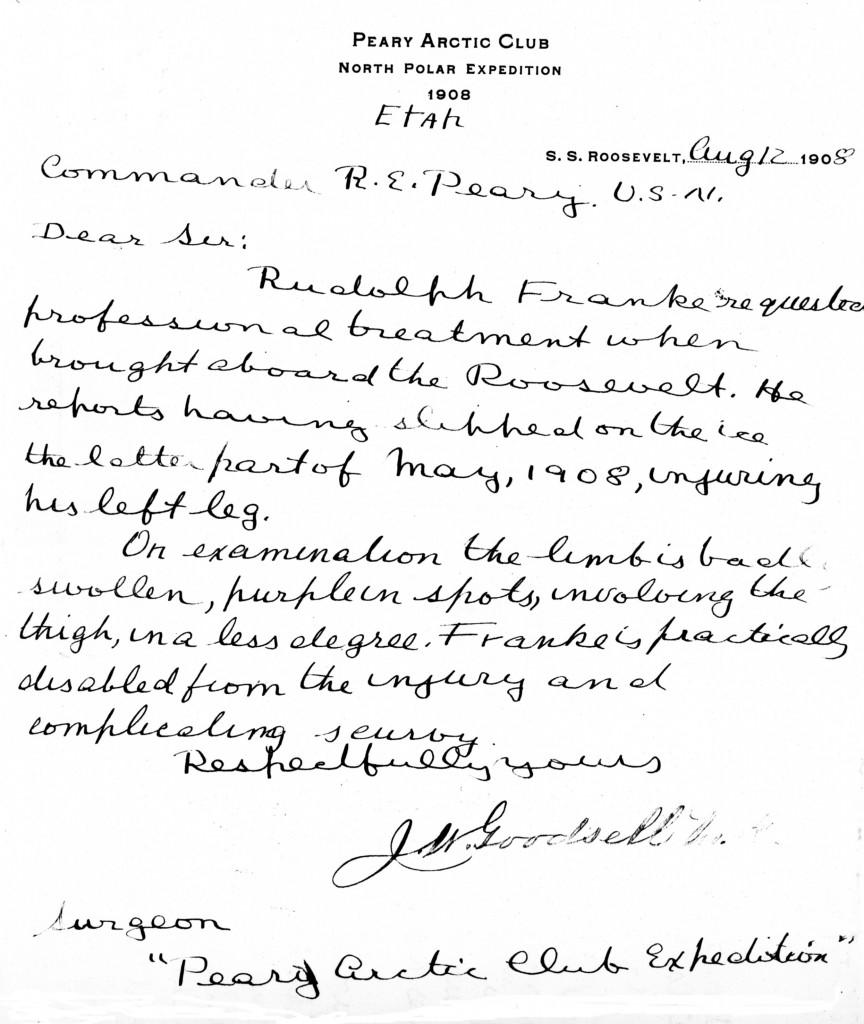 August 12 Goodsell Letter