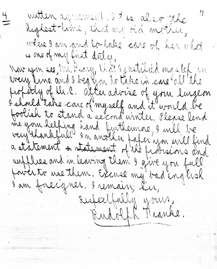 August 13 4 Rudolph Franke